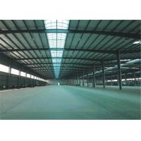 Quality Export to Philippines high quality large span steel structure frame construction building steel workshop for sale