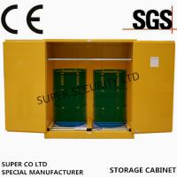 Buy cheap Hazardous Flammable Liquid Storage Cabinet in labs, minel, stock, chemical from wholesalers