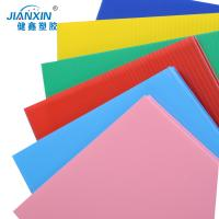 Buy 2017 New Design Coroplast PP Corrugated Futed Plastic Sheet/100% Recyclable at wholesale prices