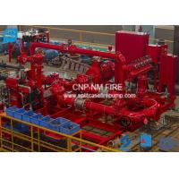 Quality Horizontal Skid Mounted Fire Pump With Ductile Cast Iron Materials UL/FM Listed for sale