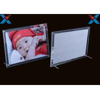 Quality Shape Custom Plexiglass Photo Frames Acrylic A4 A3 Certificate Picture Frames for sale