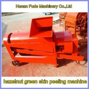 Quality Hazelnut green skin peeling machine for sale