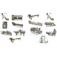 Quality Frozen French Fries Automatic Potato Chips Making Machine Energy Saving for sale
