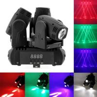 Quality 3 Heads 4 in 1 CREE LED X axis endless rotation moving head stage light,master / slave / DMX / voice control modes for sale
