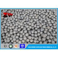 Quality High / Low chrome iron Cast Iron Balls, High impact value ball mill grinding media for sale