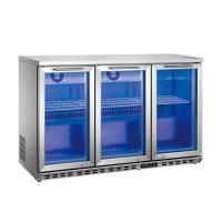 Quality 3 Doors Stainless Steel Back Bar Beer Display Cooler for sale