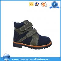 China Kids orthopedic shoes,New style blcak martin children shoes boots on sale