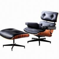 China Eames Executive Chair, Made of Full Genuine Leather on sale