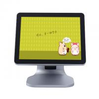 Quality Silver Color Single Screen Retail Epos Systems High Sensitivity LCD / LED Diaplay for sale
