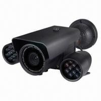 Quality Outdoor Weatherproof Camera with 40m IR Range and 3-axis Bracket for sale