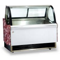 Quality Low Noise Ice Cream Display Cabinet , Energy Saving Commercial Chest Freezer with 2000mm Length for sale