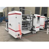 Quality Self Adhesive Label Paper Roll Rewinding Machine , Slitter Rewinder Machine Centralized Control for sale
