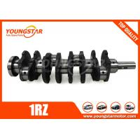 China Steel Forging Engine Crankshaft Used In Toyota 1RZ 13411-75900 1341175900 on sale