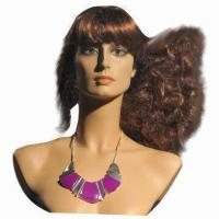 China Fashionable Mannequin Head, FPR Material, Various Styles are Available, Unbreakable on sale