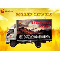 Quality Red / Blue Mobile 5D / 9D Cinema System Blow Air / Water To Face for sale