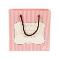 Quality paper gift handle  bag for sale