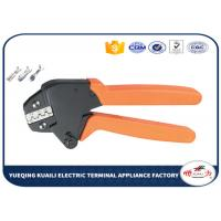 Quality Electrical Crimping Tool Strength Saving Ratchet Crimping Pliers for sale