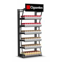 Quality Retail Cigarette Display Stand , Smoke Shop Wall Hanging Display Case for sale