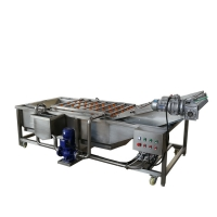 China Industrial Fresh Dry Dates Vegetable And Fruit Washing Machine on sale