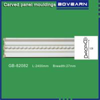 Buy cheap Polyurethane chair rail moulding white primed color customized OEM accepted from wholesalers