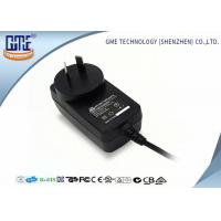 China CEC VI high Efficiency AU Plug Wall Mount Power Adapter 12V 1A For Game Player on sale