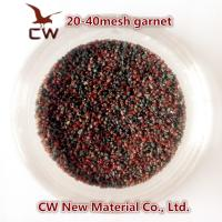 Quality Garnet sand blasting abrasives 20/40 30/60 for sale