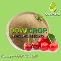Quality HOT SALE DOWCROP HIGH QUALITY LIGHT YELLOW POWDER AMINO ACID CHELATED IRON 100% WATER SOLUBLE ORGANIC FERTILIZER for sale