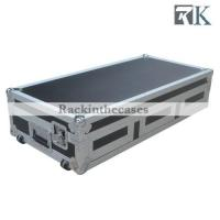 Quality CD Coffin Case for 2×pioneer CDJ2000/Dvj1000 CD Players and 12 Inch Mixer with Wheels for sale