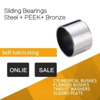China PEEK Sleeve Bushings For Gear Unit , Hydro Engine & High Pressure Injection Pump on sale