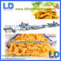 Quality Automatic Screw/shell/chips/extruded pellet frying food process line made in China for sale