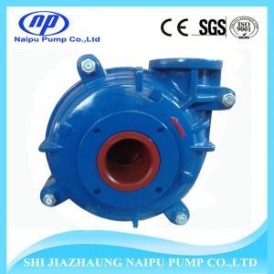 Quality Abrasive Resistant Ash Slurry pump for sale