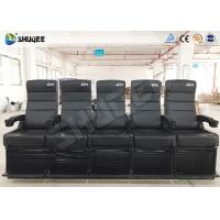 Quality 4D Movie Theater Capacity 5 People Per Seat for sale