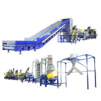Quality Industrial Waste Plastic Washing Recycling Machine With Stainless Steel Tank for sale