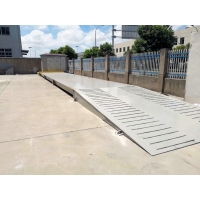 Quality 4.5M Prefabricated Concrete Truck Scale Weighbridge Anti Oxidation Reinforced for sale