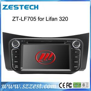 Quality ZESTECH wholesale 2 din touch sreen gps car sat nav Lifan 320 car dvd gps navigation satnav for sale