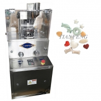 Quality Rotary Salt Tablet Press Machine Candy Tablet Press For Laboratory for sale