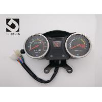 China Black Motorcycle Digital Odometer , Digital Speedometer And Tachometer For Motorcycle on sale