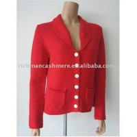 Quality woman cashmere buttons cardigan for sale