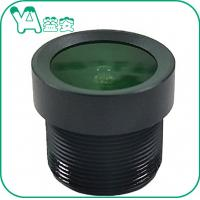 China CCTV Wide Angle Lens Focal Length 3mm Lens , Car Camera Recorder Front And Back Lens on sale