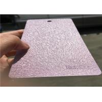 Ral Color Textured Powder Coating Finishes High Strength Excellent Weatherability
