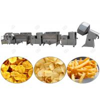 Quality Small Scale Chips making Machine , Potato Chips Manufacturing Plant Fully Automatic for sale