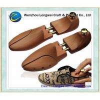 Quality Customized Logo Cedar Wooden Adjustable Shoe Stretcher , Mens Wooden Shoe Trees for sale