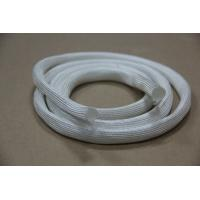 Quality 600 Degrees High Temperature Heat Treated Fiberglass Sleeve for sale