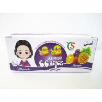 Quality 14.4g CC stick Sweet And Sour CC Stick Candy Deep In Grape Flavor Children's Favorite for sale