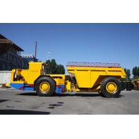 Buy cheap 5 Cumbic Meter Capacity Wheel Underground Dump Truck For Mining And Hydro Tunnel from wholesalers