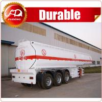 Quality China hot sale 42 m3 tri-axle farm water tank trailer with Steel or Aluminum Body for sale