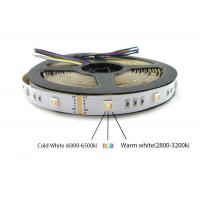 Quality DC24V 60pcs LED 5 color in one LED 5050 SMD RGBWW can replace 5050 RGB RGBW CCT LED strip light for sale