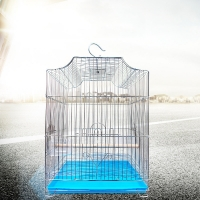 China 33x31x44cm Foldable Stainless Steel Bird Cage on sale