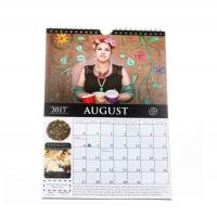 Quality Unique Fashion Giant Monthly Wall Calendar Coated Paper With Hanger for sale
