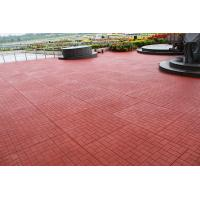Quality Red Outdoor Rubber Mats Sound Absorbed Shockproof For Child Playground for sale